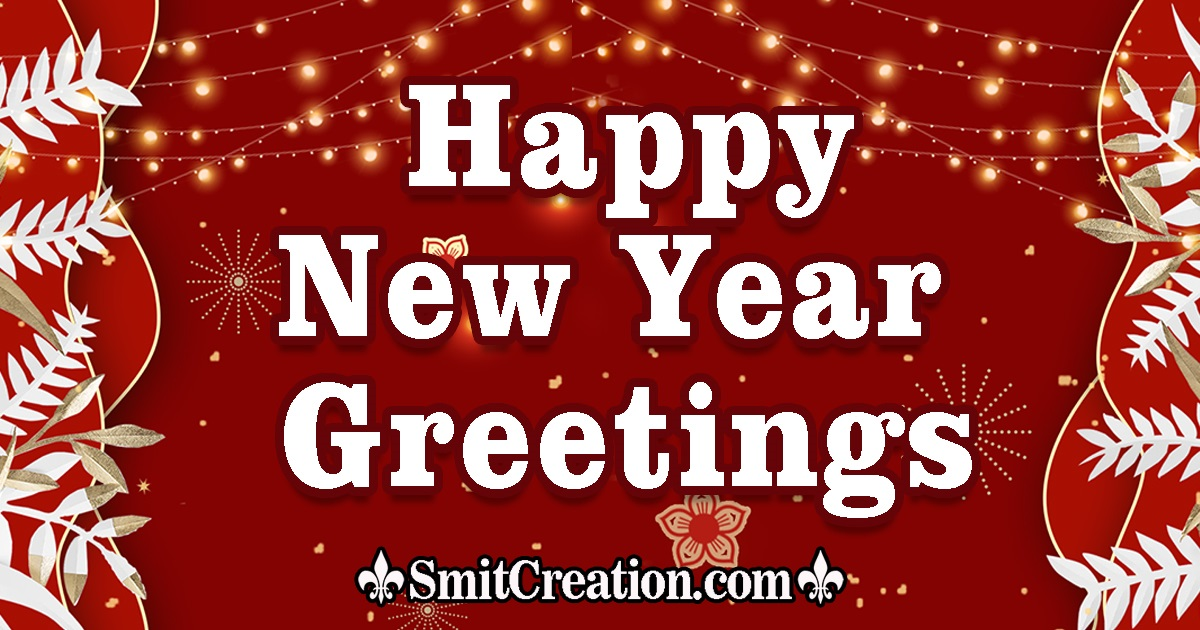 Happy New Year Greetings