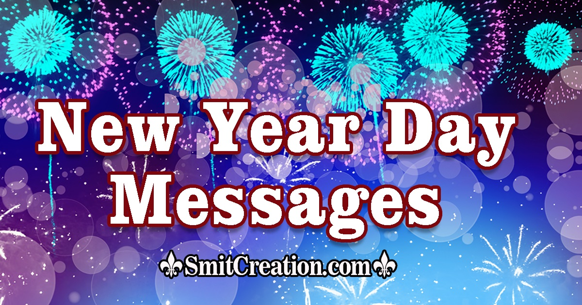 New Year Day Messages