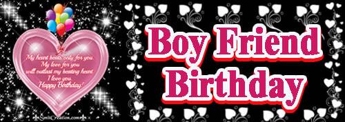 Birthday Wishes For Boy Friend