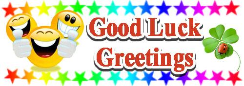 Good Luck Greetings