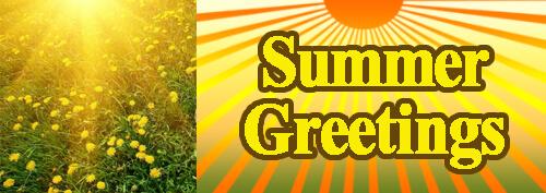 Summer Greetings