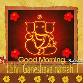 Good Morning Ganesha Pictures