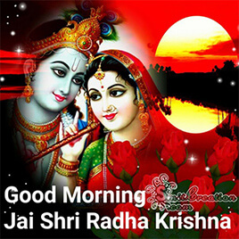 Good Morning Radha Krishna Pictures