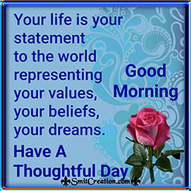 Good Morning Life Quotes Pictures