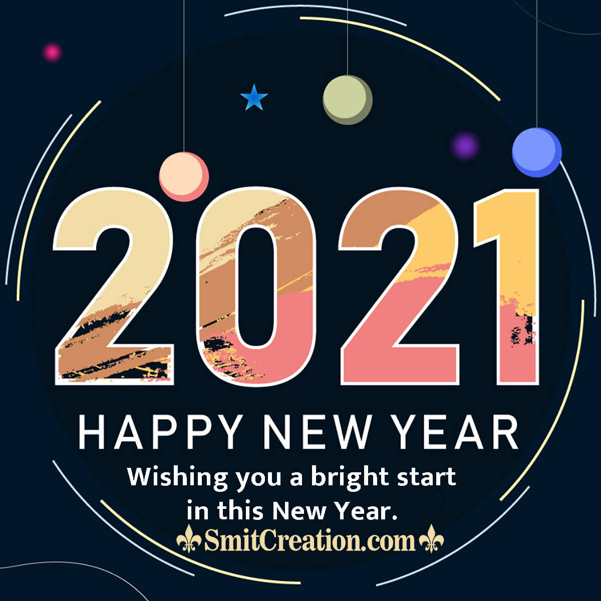 A Bright Start in 2021 New Year