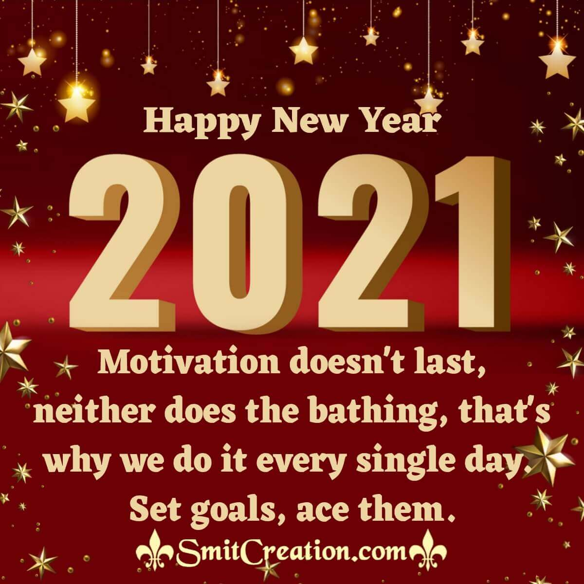 Festive Happy New Year 2021
