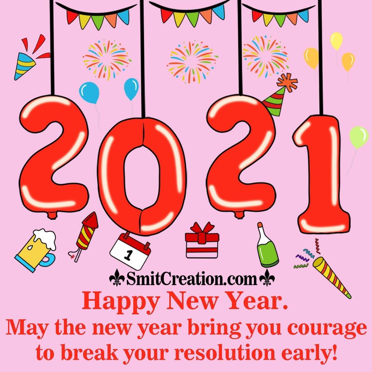 Happy New Year Party 2021