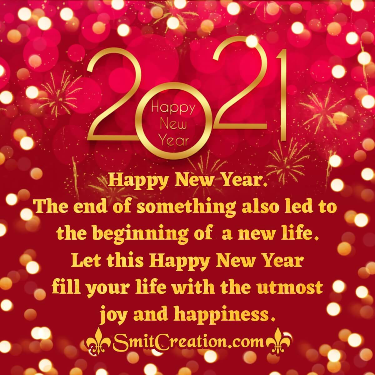 Happy 2021 New Year Images