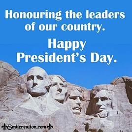 President's Day Pictures